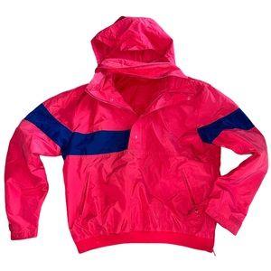 Vintage Nike quarter zip windbreaker jacket sz L